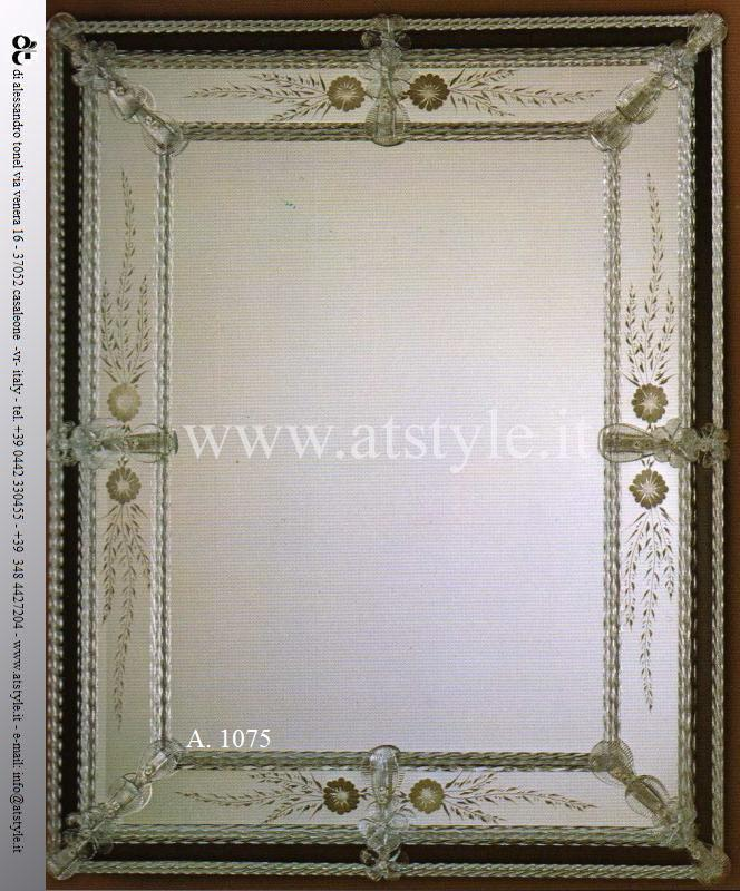 Specchi 3 Specchio Artistico Murano At Mobili In Stile